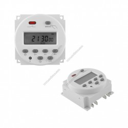 Weekly programmable timer TM012-16A