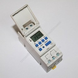 12 Volts weekly programmable timer PRG012-16A