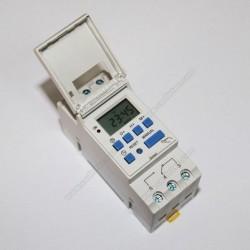 Programador horario digital PRG012-16A 12VDC/AC