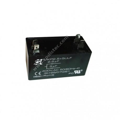 Condensador MKP2.5+5ULF