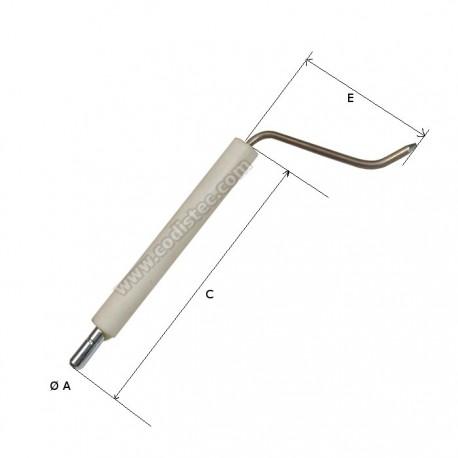 Electrodo ionização Bentone STG120 e BG200-ST