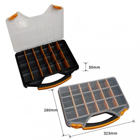 Plastic suitcase for storage 325x260x50