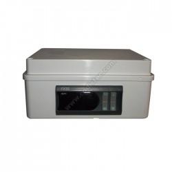 Caixa plástica para um termostato de painel