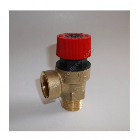 "3 bar safety valve 1/2 ""M"