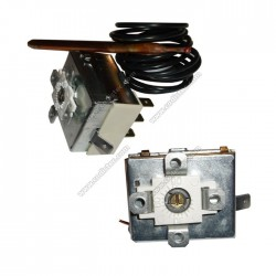 Thermostat adjustment shaftless 0 º to 90 º
