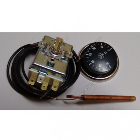 Adjustable thermostat 0 º to 120 º with button